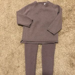 Baby girl cashmere set